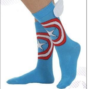 Accessories - NWT Captain America socks
